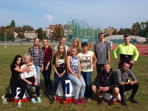 Festiwal sztafet Sosnowiec 02.10.2016